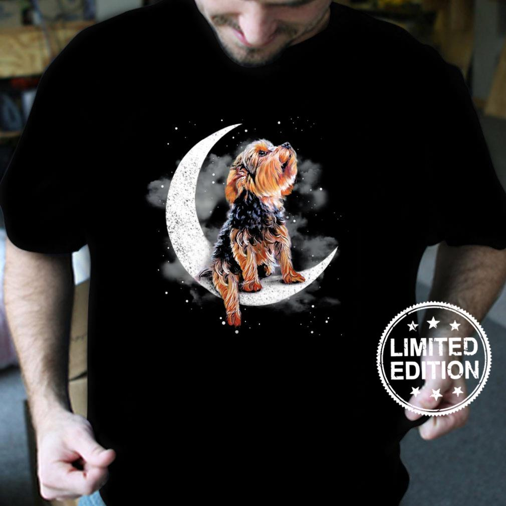 Yorkshire Terrier Sit On The Moon shirt